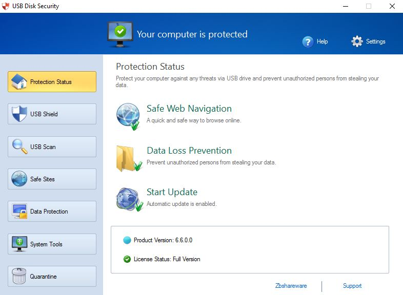 Download USB Disk Security 6.6.0.0 Free