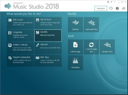 Download Ashampoo Music Studio 2018 7.0.1.0 Free