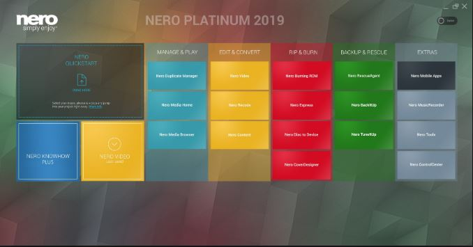 Download Nero Platinum Suite 2019