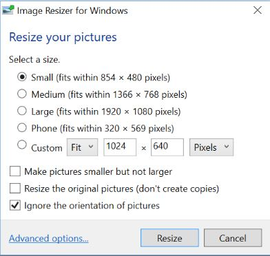 Download Picture size render Free