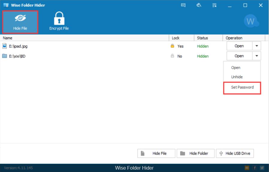 Download Wise Folder Hider 4.27.187 Free