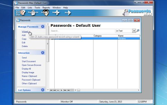 Download Passwords Max for Groups 5.96 Build 6069 Free
