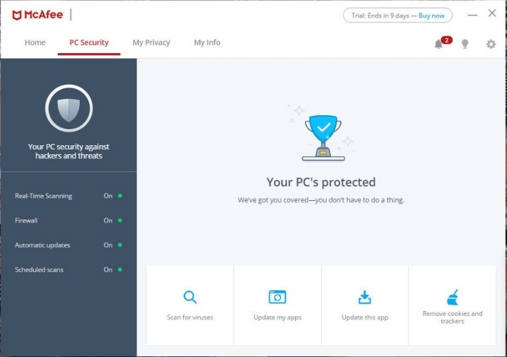 Download McAfee Total Protection Free