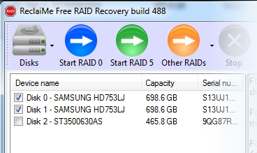ReclaiMe Free RAID Recovery Free Download