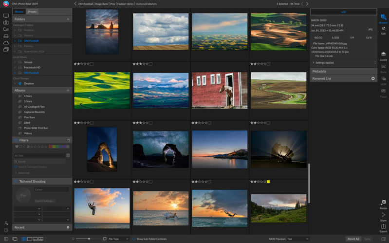 Download ON1 Photo RAW 2020 v14.0 Free