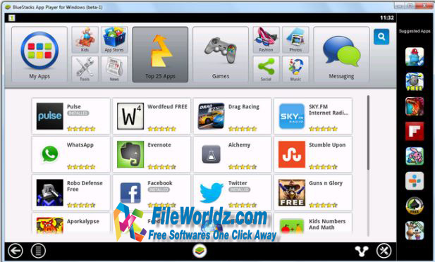 BlueStack 4.17 Free Download