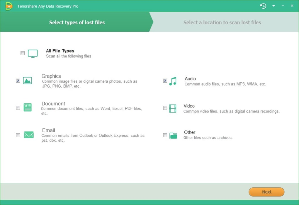 Tenorshare Any Data Recovery Pro Free Download