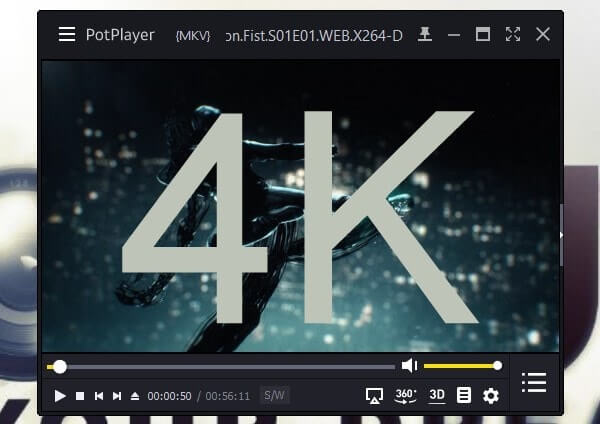 4K Video Player for Windows Free Download